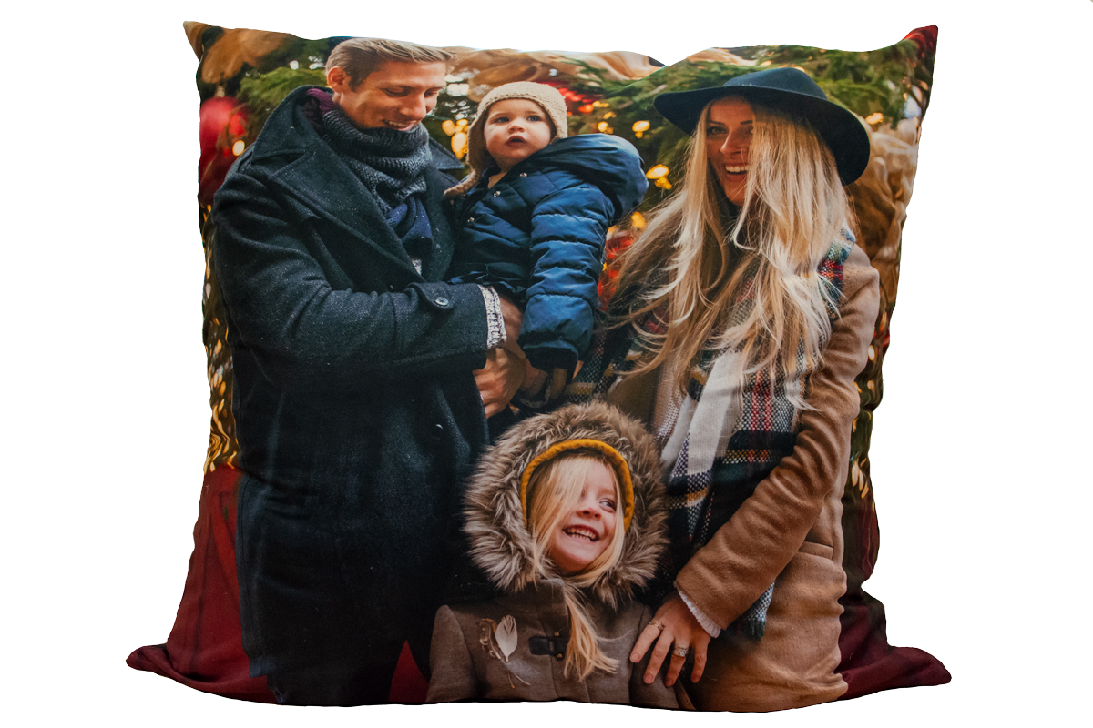 Man Made Fibres Personalised Photo Cushions
